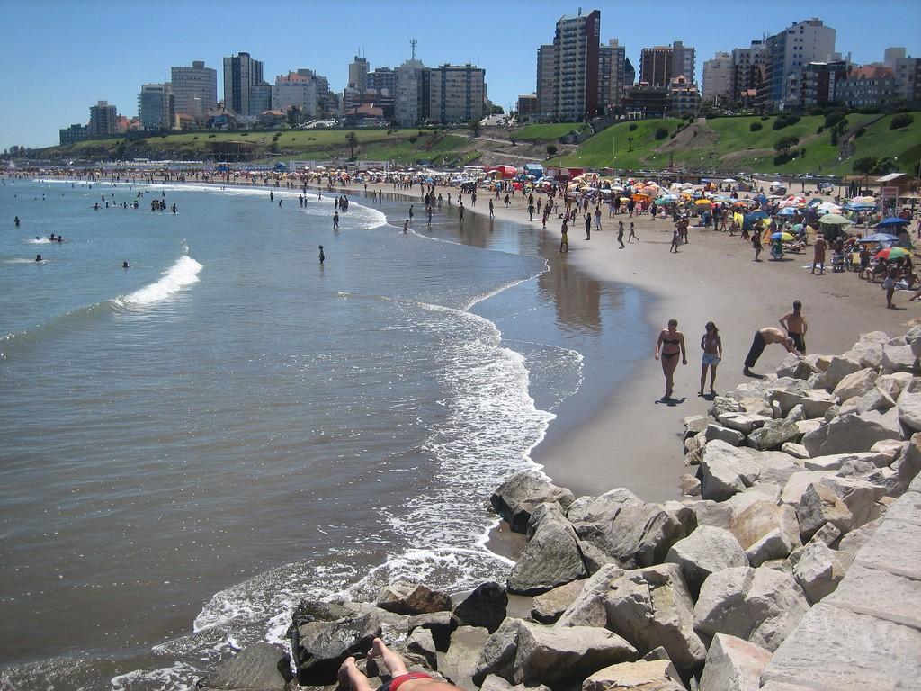 Пляж Мар-дель-Плата в Агрентине, фото 4