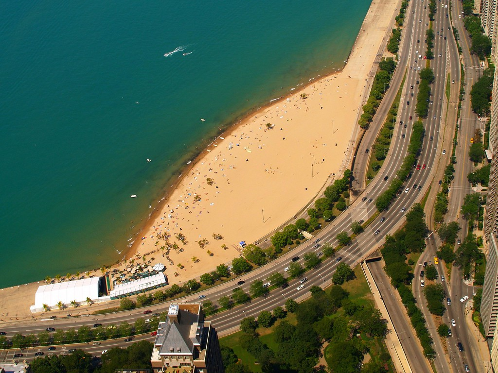 Пляж Оак-Стрит в Чикаго, США, фото 2