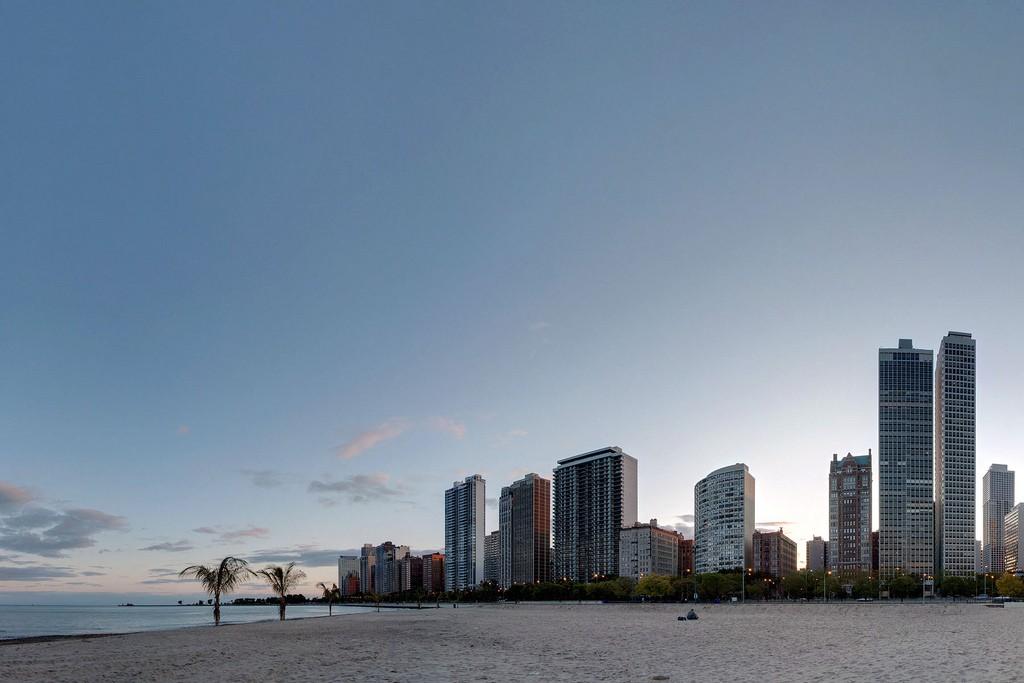 Пляж Оак-Стрит в Чикаго, США, фото 6
