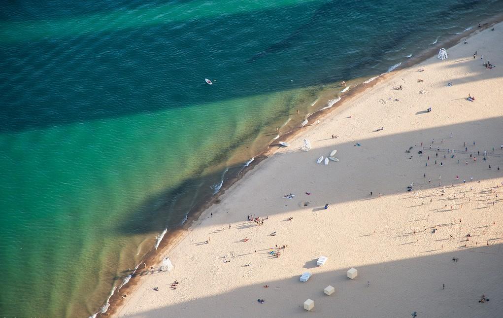 Пляж Оак-Стрит в Чикаго, США, фото 7