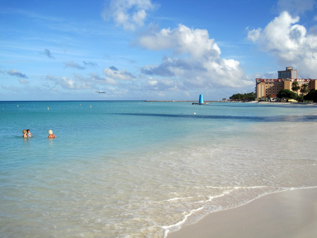 Пляж Палм Бич на Арубе, фото 2
