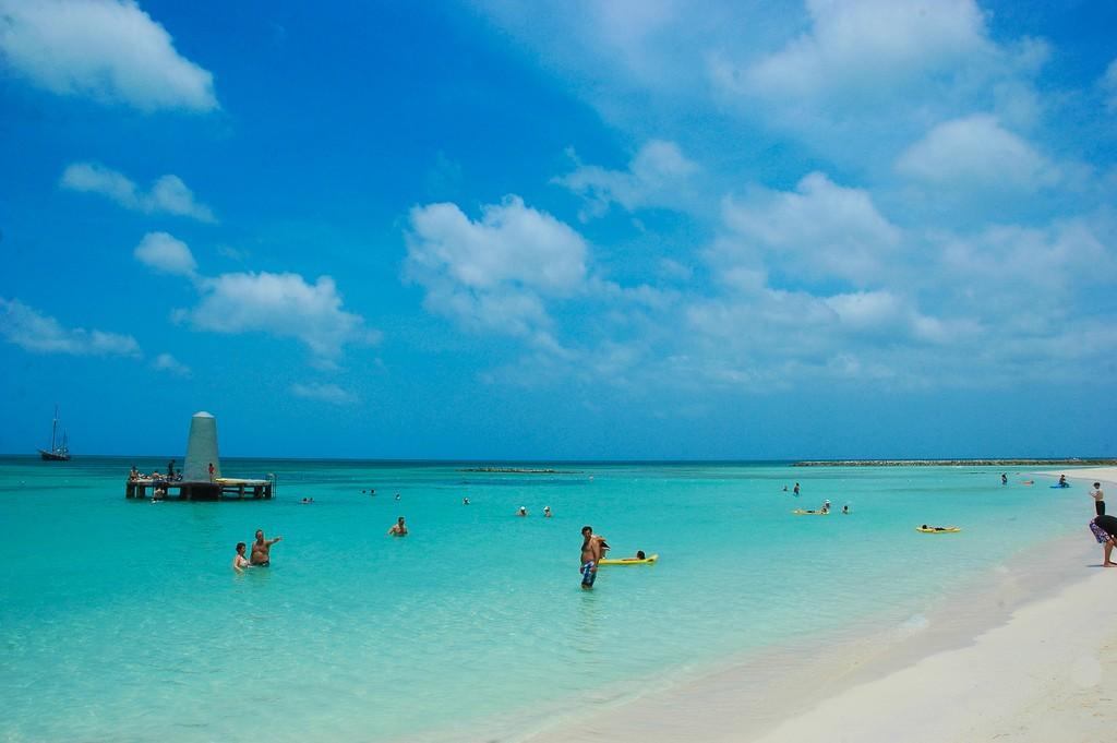 Пляж Палм Бич на Арубе, фото 1