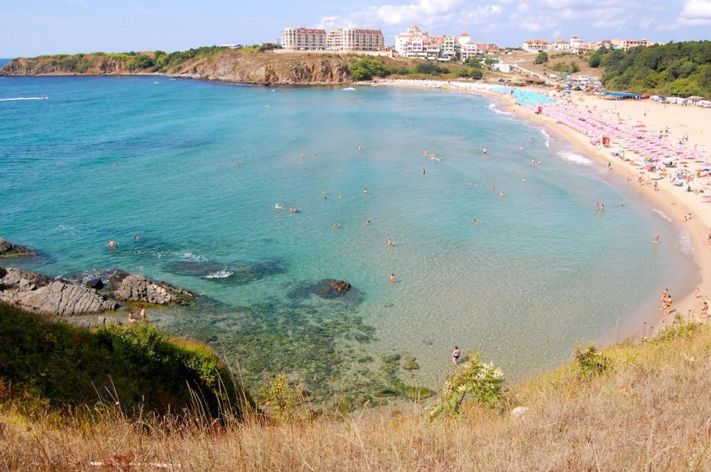 Пляж Синеморец в Болгарии, фото 1