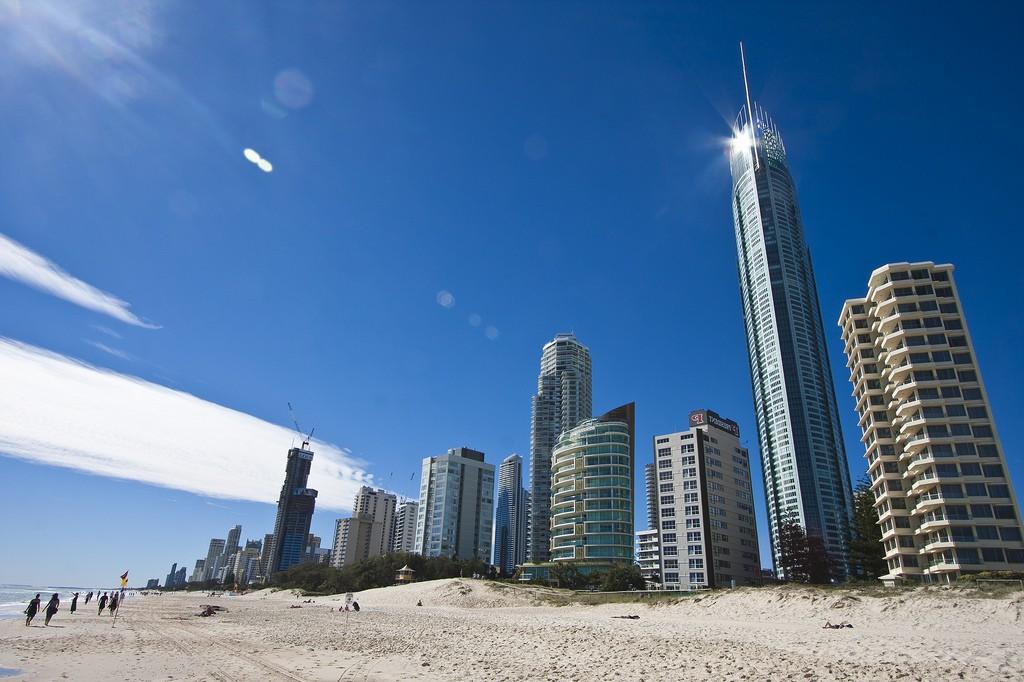 Пляж Золотой Берег в Австралии, фото 1
