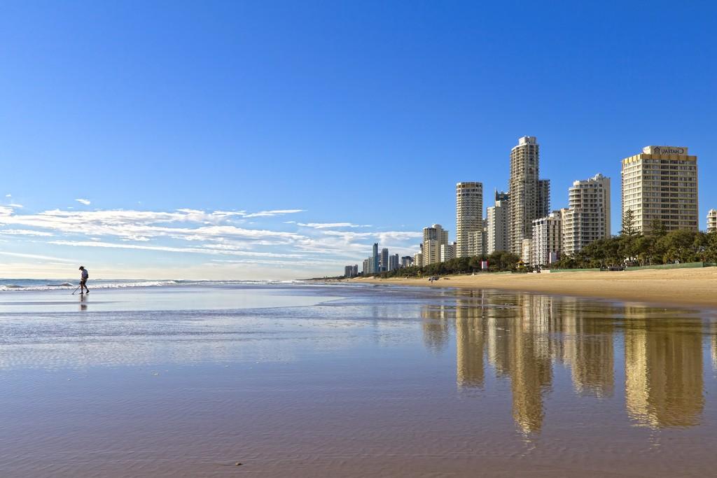 Пляж Золотой Берег в Австралии, фото 17