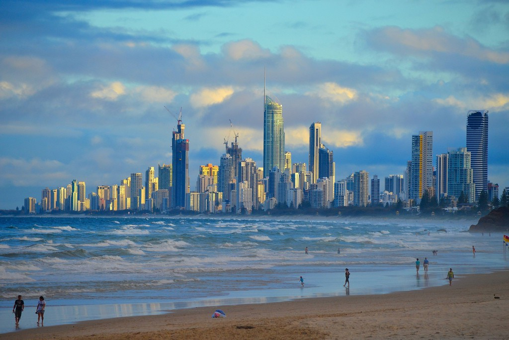 Пляж Золотой Берег в Австралии, фото 18