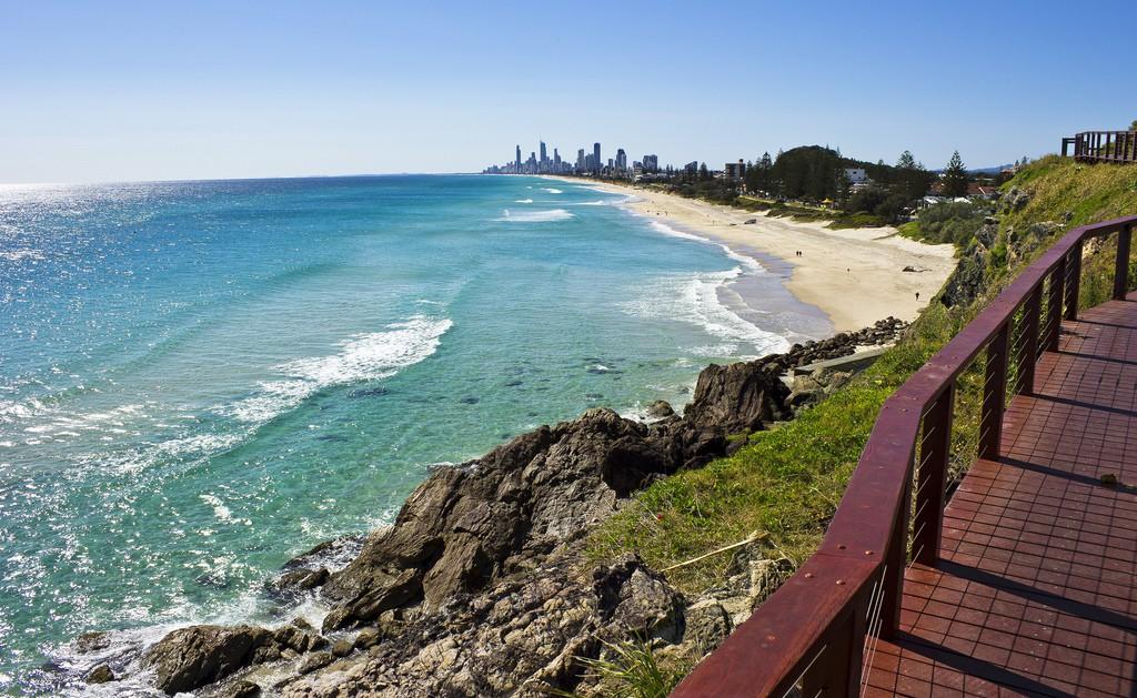 Пляж Золотой Берег в Австралии, фото 9